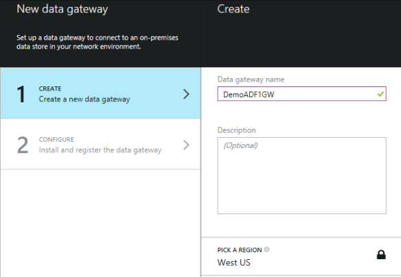 New Data Gateway