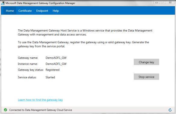 Registered Data Gateway